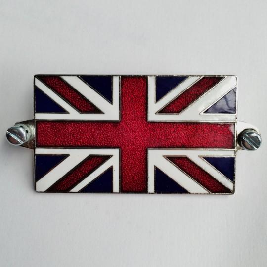 Badge drapeau Union Jack émaillé 6 x 3,5 cm
