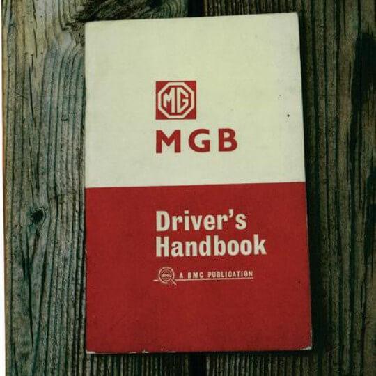 Driver's Handbook MGB