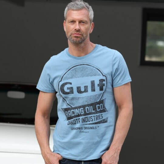 T-shirt Gulf Oil Racing