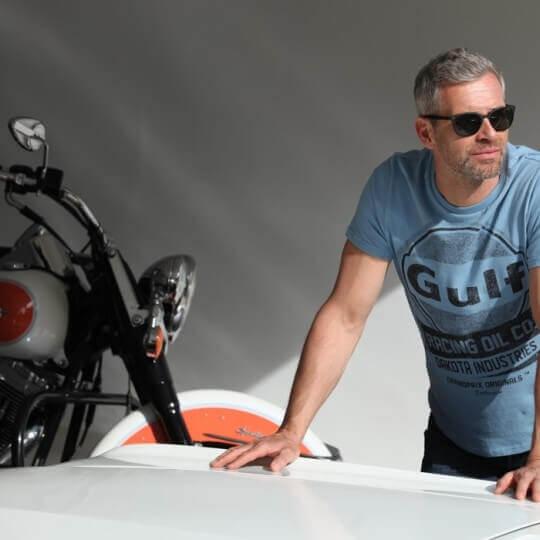 T-shirt Enfant Gulf Oil Racing