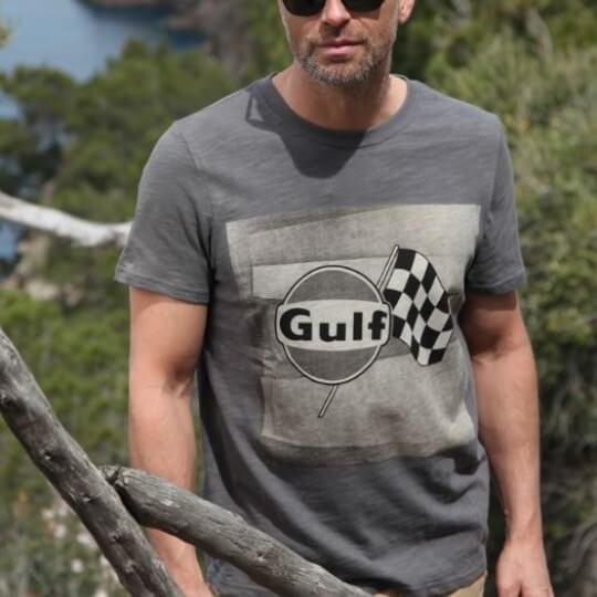 Gulf Racing Flag T-shirt