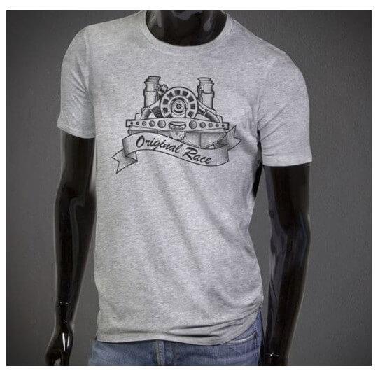 Original Race T-Shirt grey