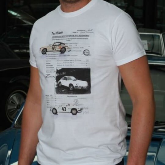 T-shirt Original Race blanc II