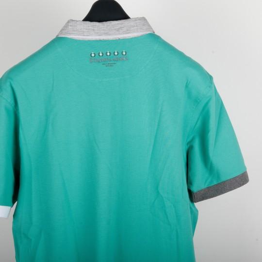 Polo Etiqueta Negra vert