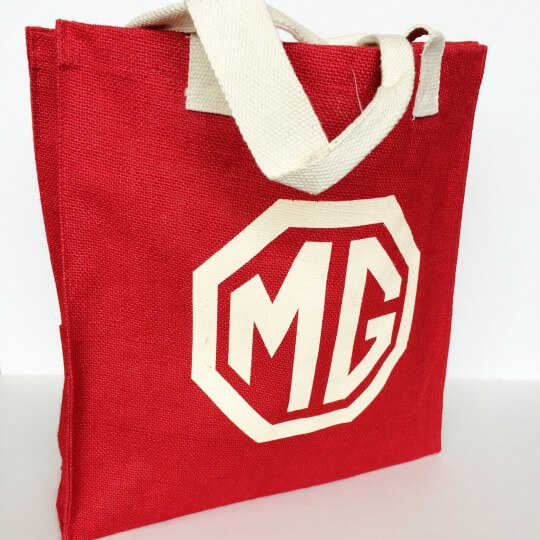 MG jute shopping bag