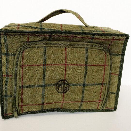 Tweed bag MG pic-nic
