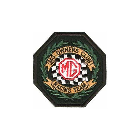 Ecusson MG Owners Club Racing Team