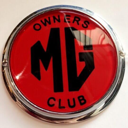 MG Club Bar Badge