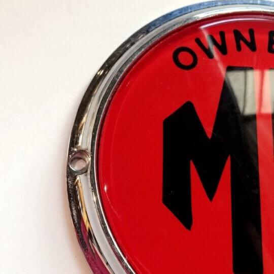 Badge de Barre MG Club