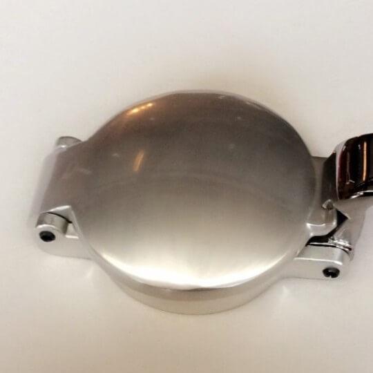 Bouchon Aston acier chromé