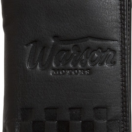 Porte monnaie mini noir cuir