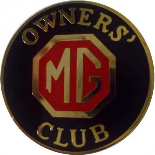 Pin's MG noir
