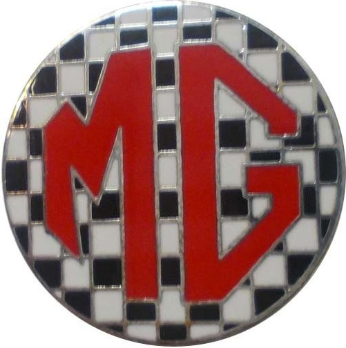 Pins MG Damier Rouge