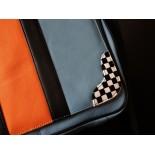 Sac Gulf Racing Messenger bleu ciel