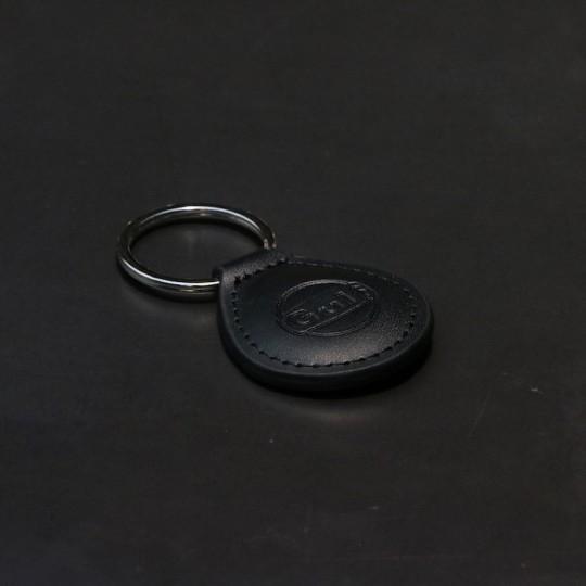Porte clé Gulf cuir noir