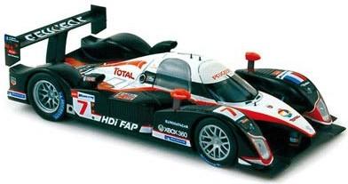 Peugeot 908 Le Mans 2008 N°7 Gene/Minassian/Villeneuve