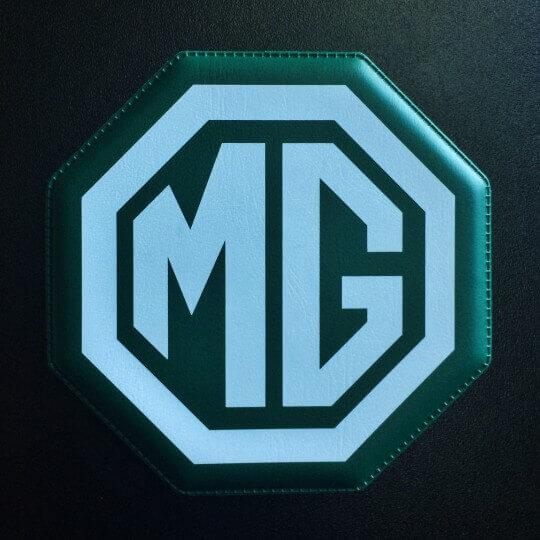 Sous verre MG vert