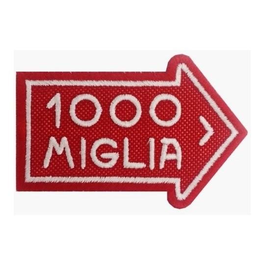 Ecusson 1000 MIGLIA 8x6cm