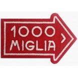 Badge 1000 MIGLIA 8x6cm