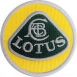 Écusson Lotus rond 7cm