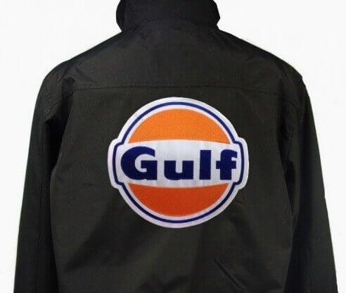 Grand écusson GULF 22x20cm