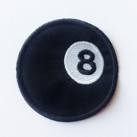 Écusson Boule 8
