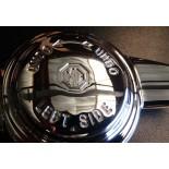 Papillon de roue chromé logo MG Gauche - 12 pas