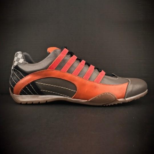 Chaussures Gulf GrandPrix Originals Sneakers Grey & Orange