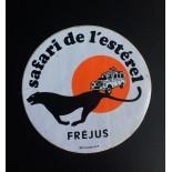 Autocollant Safari de l'estérel Fréjus