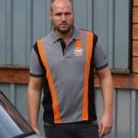 Polo Gulf Gris & Orange Racing mixed