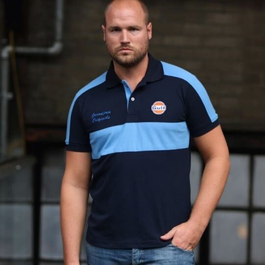 Gulf Rugby Polo navy blue