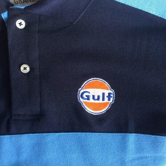 Polo Gulf Rugby bleu marine