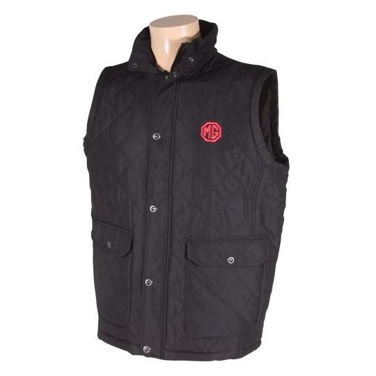 MG Sleeveless Jacket black2