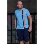T-shirt Gulf Stripe cobalt