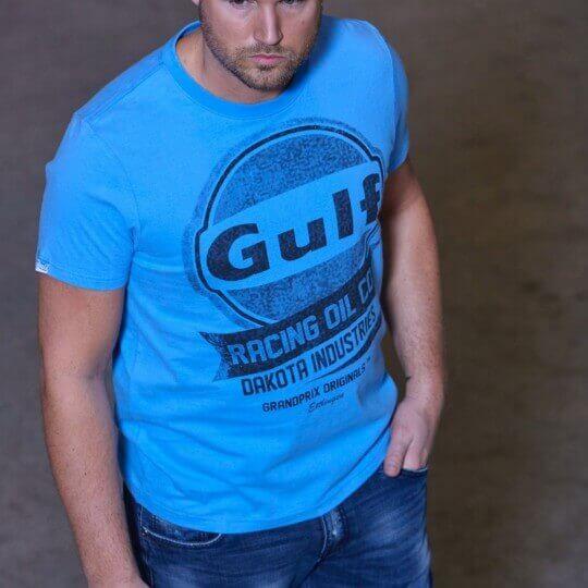 Oil Racing Cobalt T-shirt