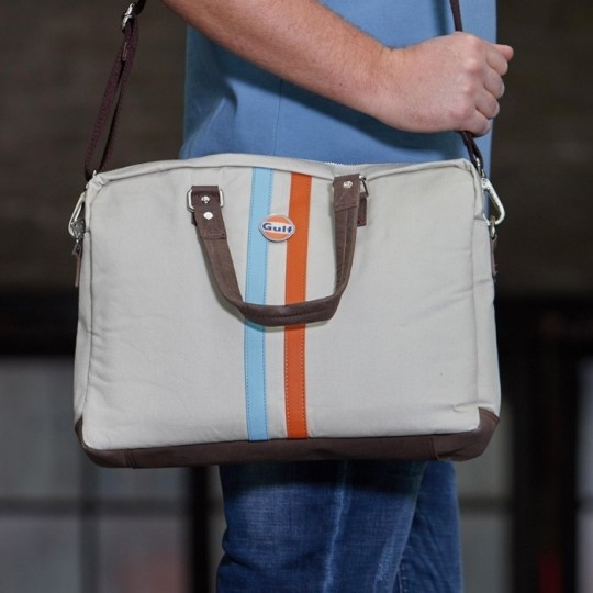 Sac Gulf Messenger Stripe sand