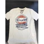 T-shirt Gulf enfant Oil Racing crème