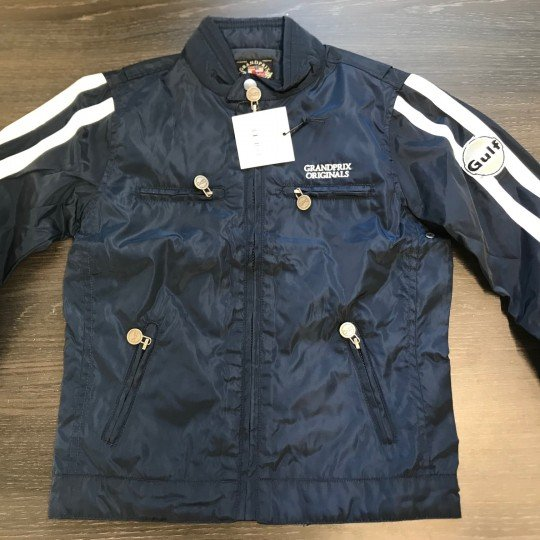 Blouson Gulf enfant Racing Jacket navy blue