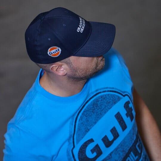 Casquette Flex Cap bleu foncé Gulf