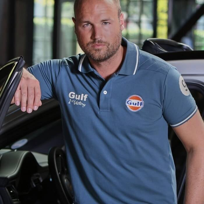 Polo Gulf Vintage Petrol Blue