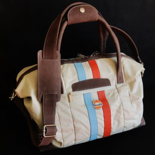 Sac Gulf Stripe Travelbag Medium sand 18
