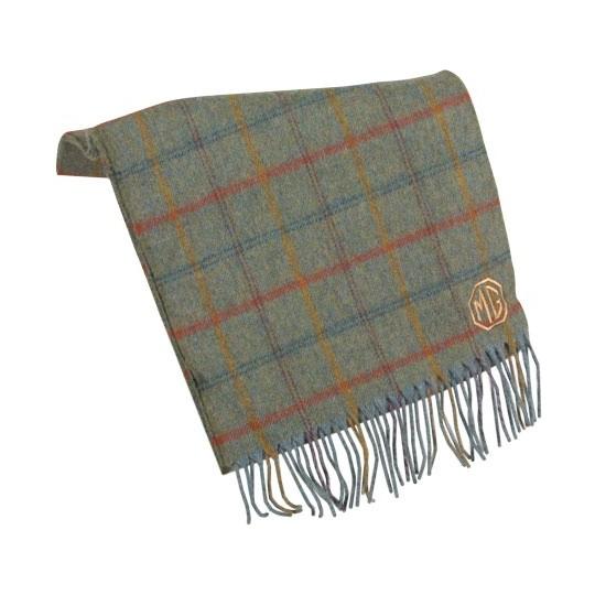 Echarpe MG en laine écossaise
