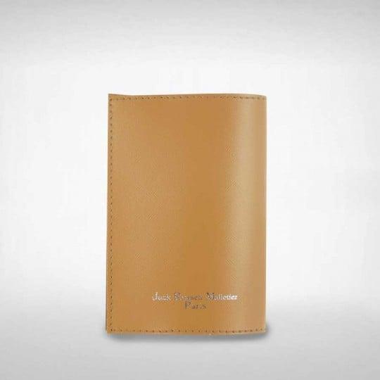 Protège Passeport Jack Russell Naturel