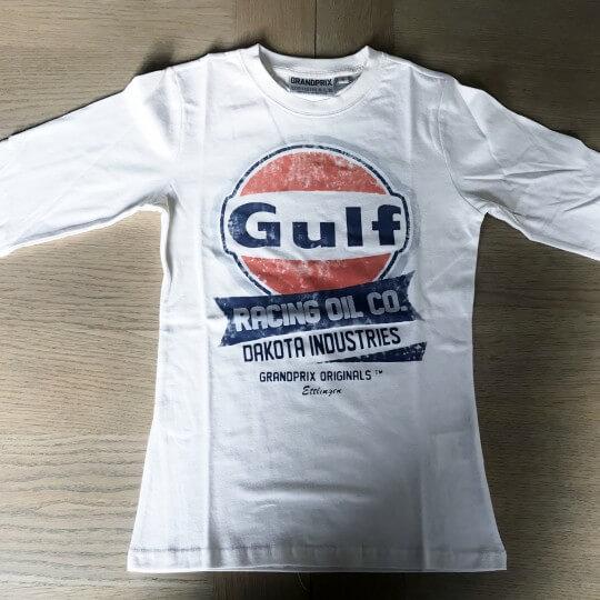 Women's GULF Oil racing long sleeve t-shirt
