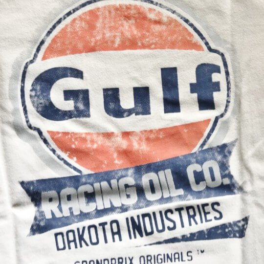 T-shirt GULF femme Oil racing manches longues