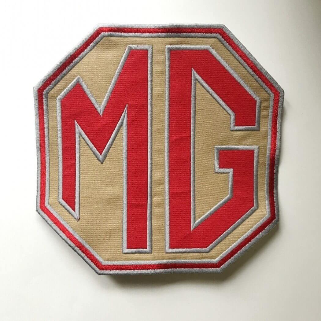 Grand Écusson MG 18x18 cm
