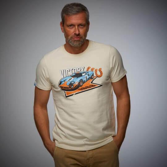 Gulf Victory cream t-shirt