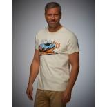T-shirt Gulf Victory crème