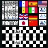 Valise 24h Le Mans bolide enfant 45cm