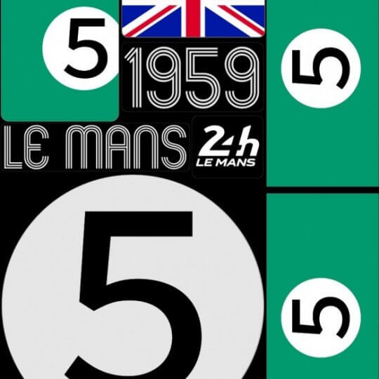 PACK OF 5 SHEETS OF 1959 24H REPOSITIONABLE STICKERS